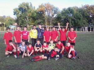 Футбольная команда по футболу на кубок Мэра