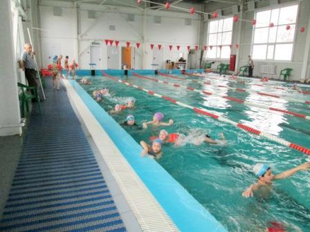 Дружно мы плывём вперёд! Нас Победа всех зовёт! Плавать все мы очень любим! Мы уроки не забудем!
