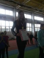 Чемпионка областных соревнований Шиповка юных 2016