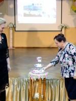 «Свечу Дружбы» с теплом зажигают Н.Н.Михеева и Е.В.Яковлева